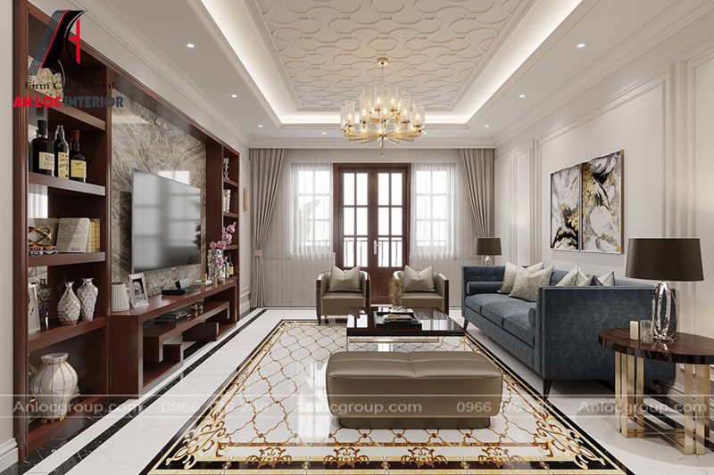 Cách bố trí đồ nội thất phòng khách sang trọng, tinh tế đến từng chi tiết