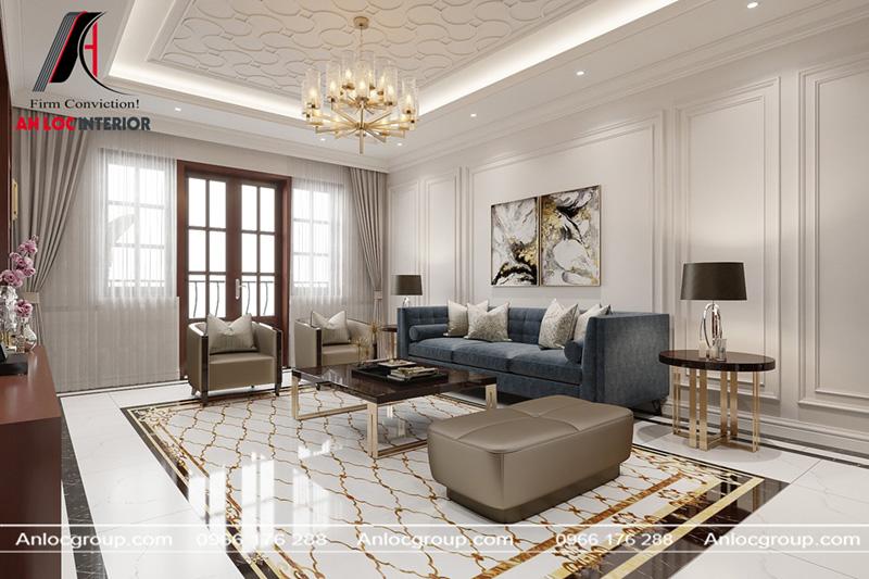 Rèm che nhẹ nhàng giúp gia chủ điều chỉnh ánh sáng cho tổng thể căn phòng