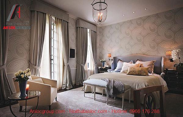 Sử dụng gam màu trung tính khi thiết kế phòng ngủ