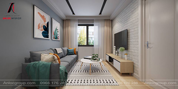 Mẫu 32 - Nội thất phòng khách hiện đại