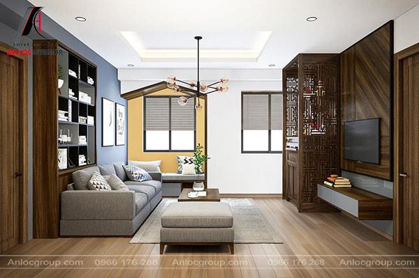Khi trang trí phòng khách nhỏ cần sắp xếp bố cục hợp lý, đảm bảo phong thủy