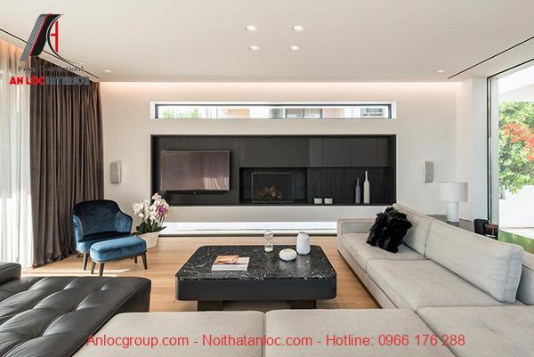Căn hộ nào cũng đều được chú trọng khi thiết kế phòng khách