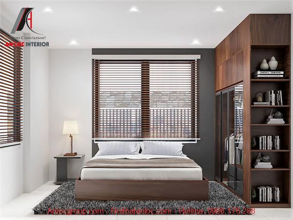 Thiết kế phòng ngủ đương đại tối ưu họa tiết rườm rà