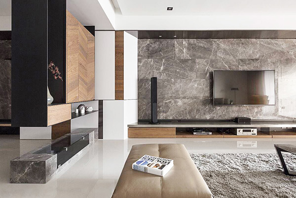 Phong cách thiết kế nội thất đương đại được đưa vào không gian sống