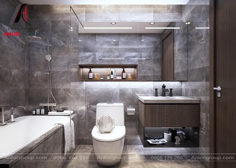 Bồn tắm độc đáo giúp khách hàng có không gian thu giãn tuyệt vời