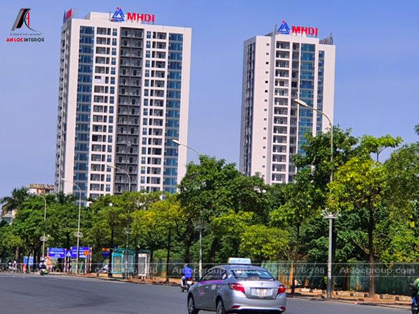 Hình ảnh chung cư CT5-CT6 Lê Đức Thọ do chủ đầu tư MHDI thực hiện