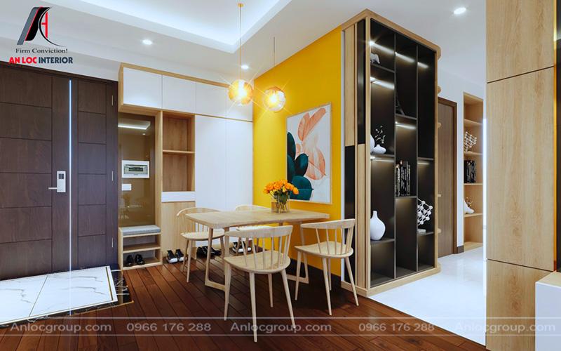Nội thất căn hộ tại chung cư CT5 - CT6 Lê Đức Thọ logic, hài hòa