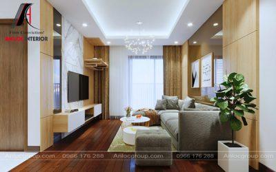 Thiết kế nội thất chung cư 80m2 tại MHDI