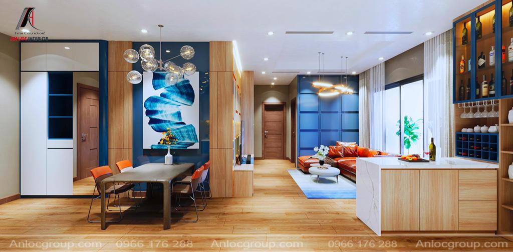 thiết kế nội thất chung cư an lộc