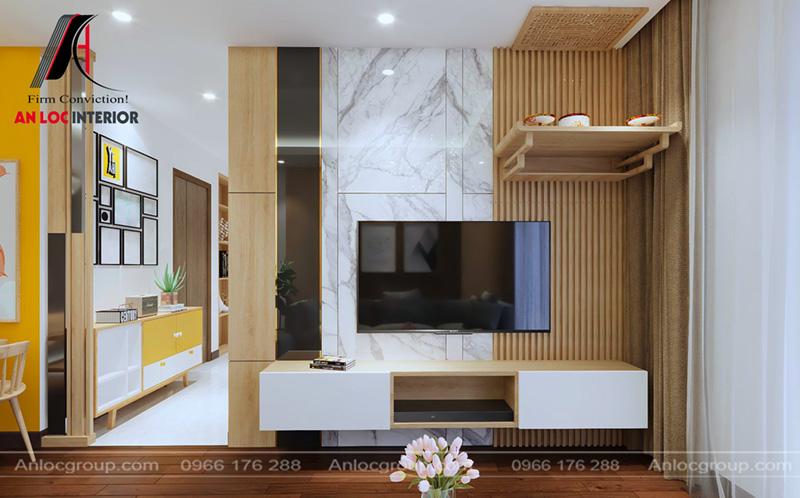 Thiết kế nội thất chung cư ct5-ct6 lê đức thọ, mỹ đình