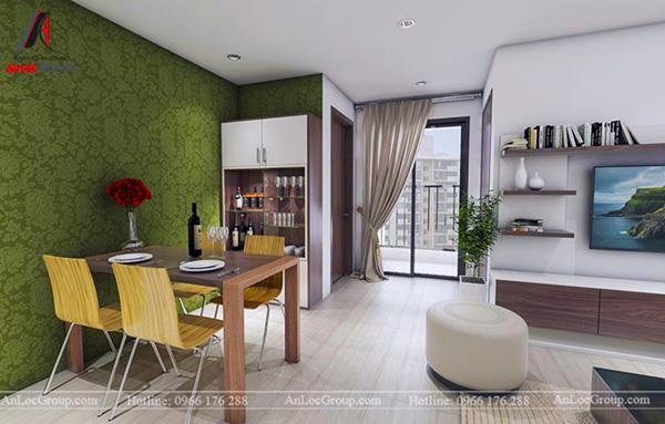 nội thất chung cư 60m2