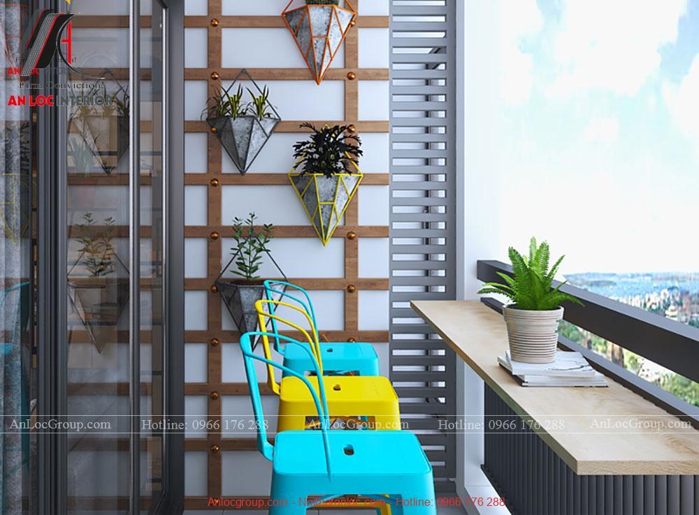 Thiết kế lô gia chung cư đẹp, hợp phong thủy