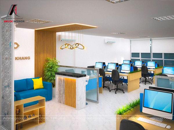 Mẫu 16 - Cách sắp xếp văn phòng làm việc nhỏ đáng để học hỏi