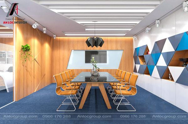 Mẫu 20 - Phòng họp nổi bật phù hợp với công ty nhỏ