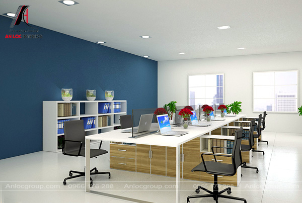 Mẫu 23 - Văn phòng nhỏ đẹp, giá rẻ