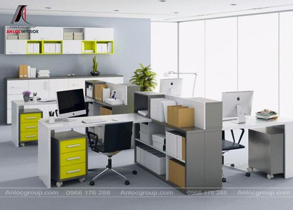 Mẫu 34 - Thiết kế nội thất văn phòng nhỏ mà đẹp
