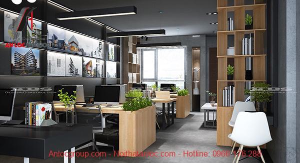Chất liệu sử dụng trong thiết kế văn phòng công ty phù hợp nhu cầu sử dụng
