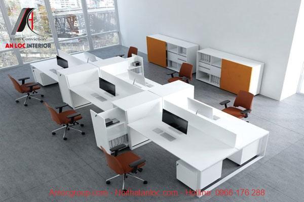 Phong cách hiện đại tạo vẻ đẹp cuốn hút cho văn phòng công ty nhỏ