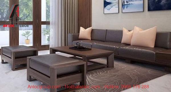 Ghế sofa gỗ cao cấp