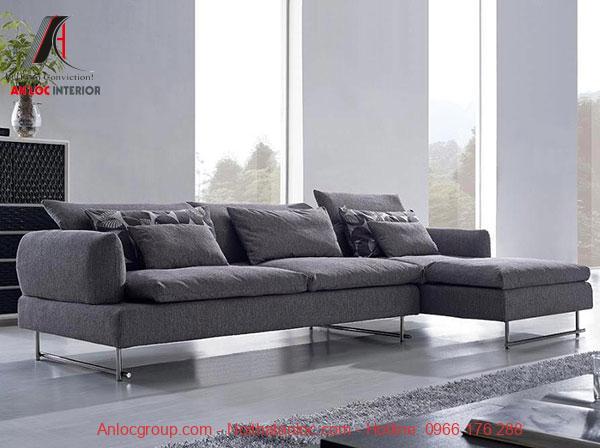 sofa nỉ đa dạng