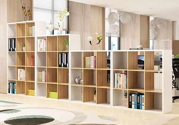 Tủ sách gỗ đẹp