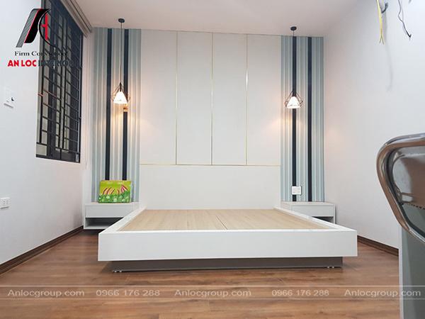 Nội thất phòng ngủ trẻ em đơn giản nhưng phát huy tối đa công năng trong khi sử dụng