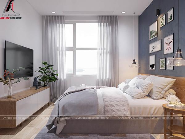 thiết kế nội thất phòng ngủ chung cư