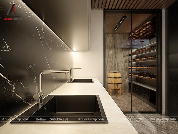 Thiết kế nội thất hiện đại cho phòng bếp