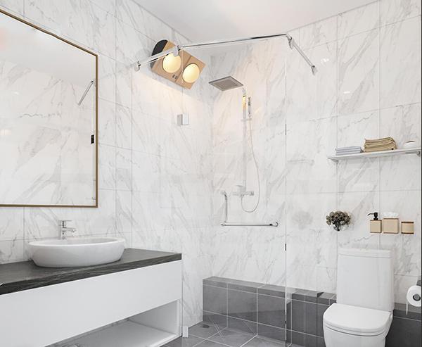 Nội thất phòng tắm trong chung cư A10 Nam Trung Yên đảm bảo tiệ nghi trong sinh hoạt