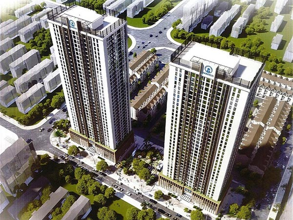 Quy hoạch tổng thể dự án chung cư A10 Nam Trung Yên