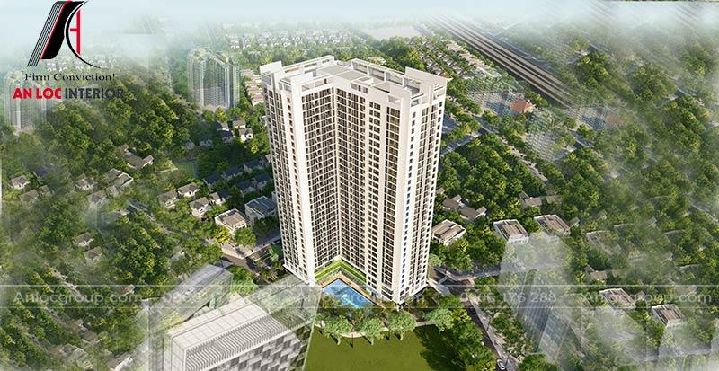 Tổng quan dự án thiết kế cung cư An Bình Plaza, Trần Bình