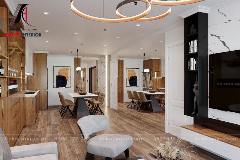 Thiết kế nội thất chung cư the Zei Mỹ Đình