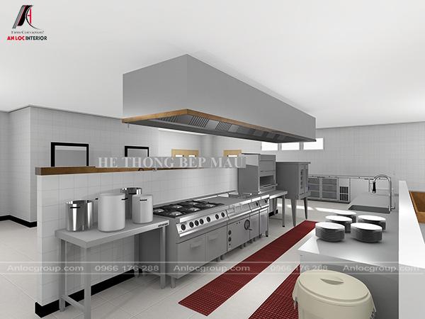 Bếp nấu là linh hồn của nhà hàng để tạo ra các món ăn ngon chinh phục khách hàng
