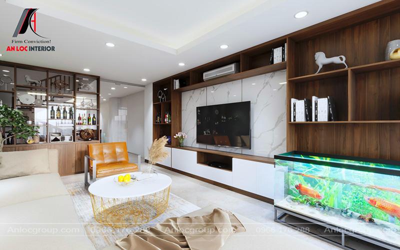 Thiết kế nội thất nhà phố Thiên Hiền