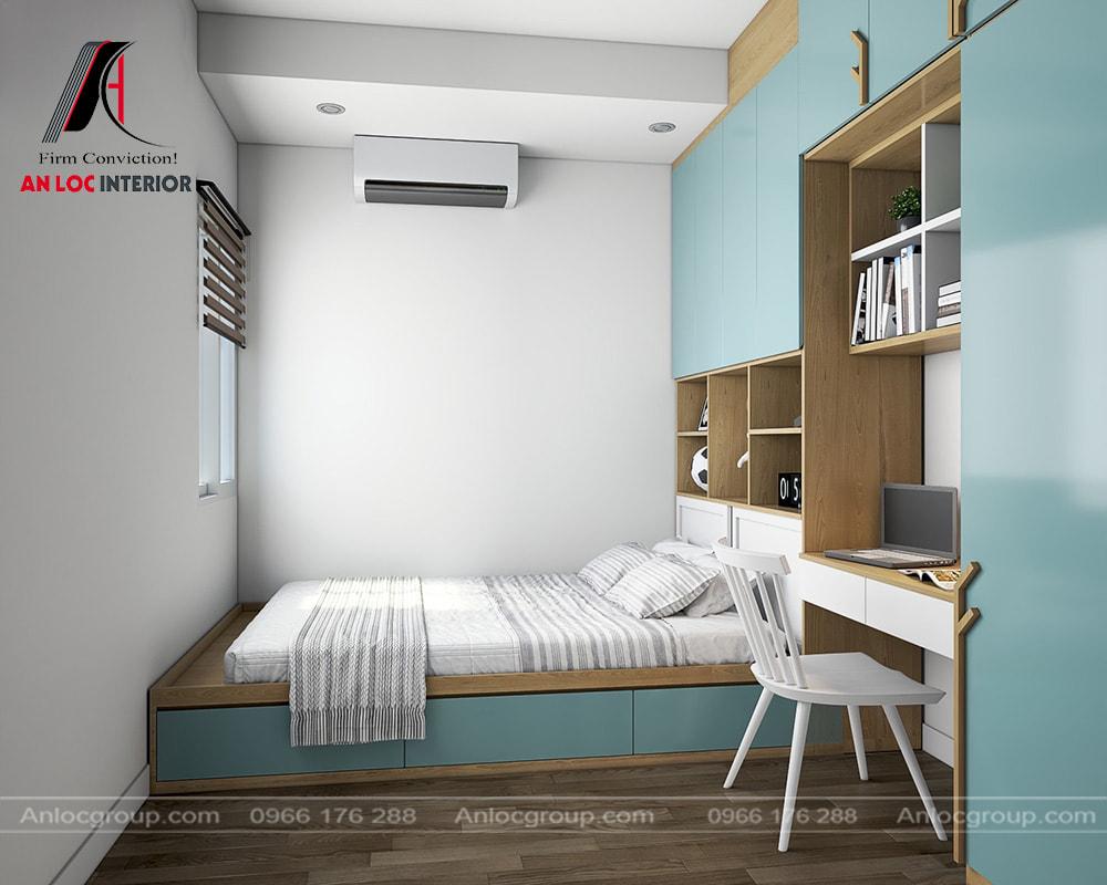 Thiết kế phòng ngủ nhỏ 5m2