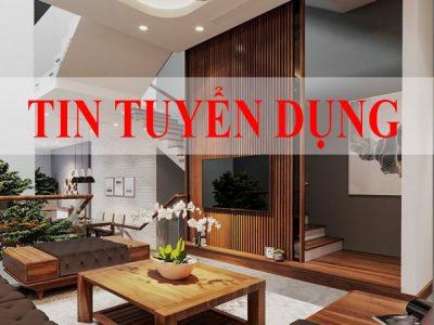 An Lộc tuyển dụng kiến trúc sư thiết kế nội thất