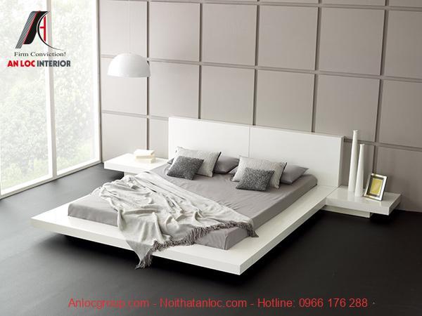 Decor phòng ngủ không giường bằng màu be