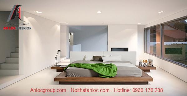 Bố trí phòng ngủ không giường