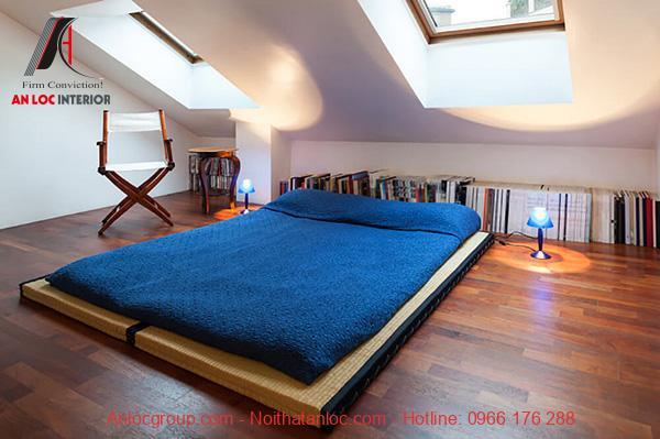Decor phòng ngủ không giường
