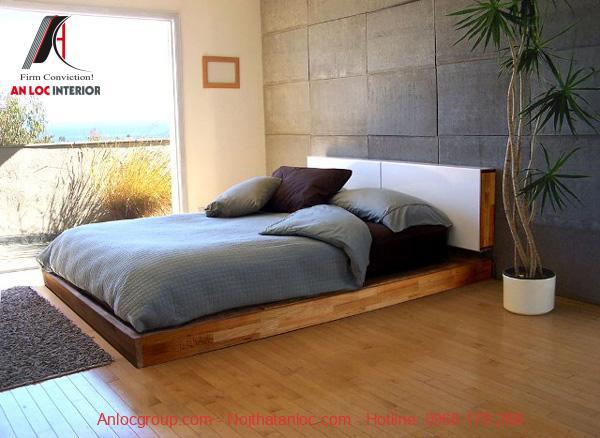 Phòng ngủ nhỏ đẹp không giường