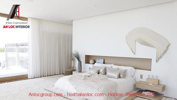 Thiết kế phòng ngủ nhỏ không giường