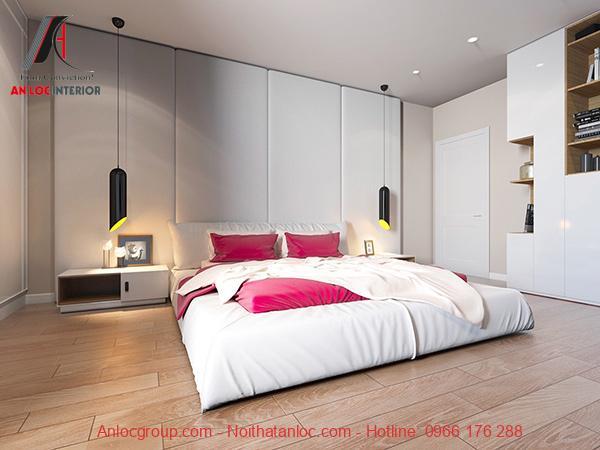 Phòng ngủ không cần giường đẹp