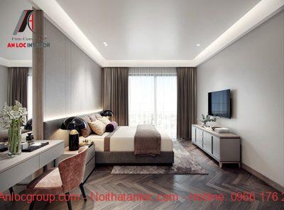 Thiết kế phòng ngủ 25m2 đẹp