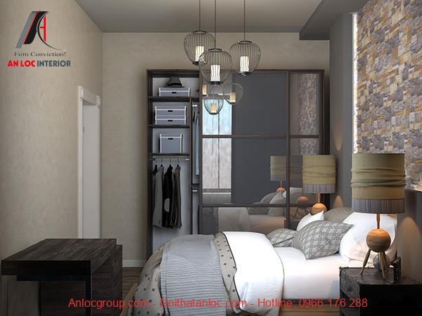 Thiết kế nội thất phòng ngủ nhỏ 12m2