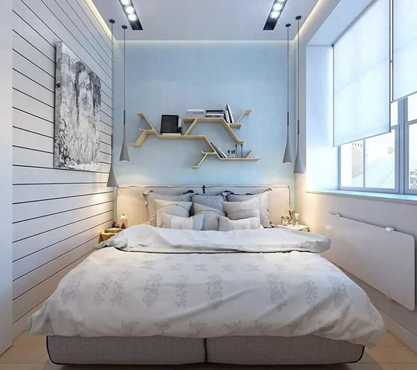 Thiết kế phòng ngủ 12m2 đẹp