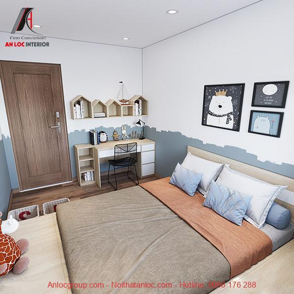 Sắp xếp phòng ngủ 12m2