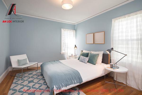 Trang trí phòng ngủ 12m2 đơn giản