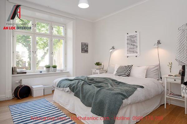 Thiết kế phòng ngủ đẹp 13m2