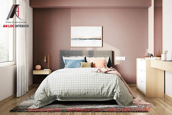 Thiết kế nội thất phòng ngủ 13m2