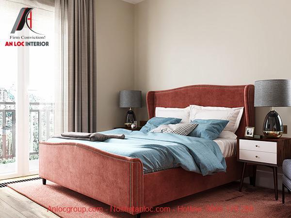 Thiết kế phòng ngủ 14m2 đơn giản